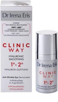 Dr Irena Eris Clinic Way 1°+ 2° crème lissante anti-rides contour des yeux
