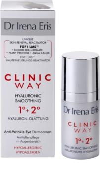 Dr Irena Eris Clinic Way 1°+ 2° krem wygładzający przeciw zmarszczkom wokół oczu