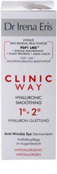 Dr Irena Eris Clinic Way 1°+ 2° Smoothing Cream Anti Wrinkles In Eye Area