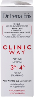 Dr Irena Eris Clinic Way 3°+ 4° Lifting Cream Anti Wrinkles In Eye Area