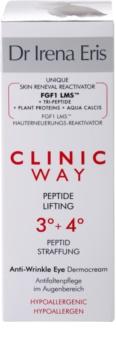 Dr Irena Eris Clinic Way 3°+ 4° Liftingcrem gegen Falten im Augenbereich