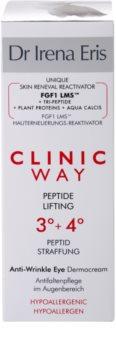 Dr Irena Eris Clinic Way 3°+ 4° liftingový krém proti vráskam v okolí očí