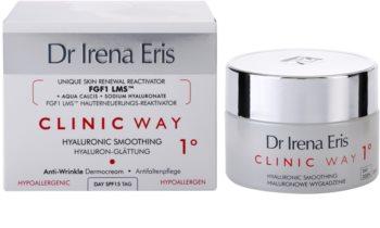 Dr Irena Eris Clinic Way 1° feuchtigkeitsspendende Tagescreme zur Faltenreduktion und für zarte Haut LSF 15