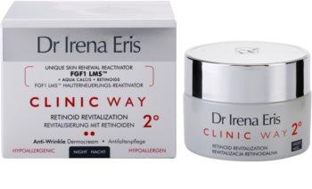 Dr Irena Eris Clinic Way 2° festigende Nachtcreme für zarte Haut gegen Falten