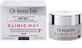 Dr Irena Eris Clinic Way 3° verjüngende und glättende Nachtcreme