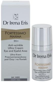 Dr Irena Eris Fortessimo Maxima 55+ crema anti-rid zona ochilor