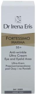 Dr Irena Eris Fortessimo Maxima 55+ crema antiarrugas para contorno de ojos