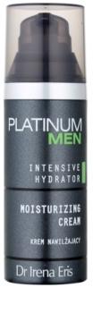 Dr Irena Eris Platinum Men Intensive Hydrator crema hidratanta pentru fata si zona ochilor