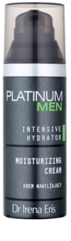 Dr Irena Eris Platinum Men Intensive Hydrator Hydraterende Crème voor Gezicht en Oogcontouren