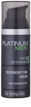 Dr Irena Eris Platinum Men 24 h Protection Herstellende Nachtcrème  voor Vermoeide Huid