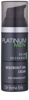 Dr Irena Eris Platinum Men 24 h Protection nočný regeneračný krém pre unavenú pleť