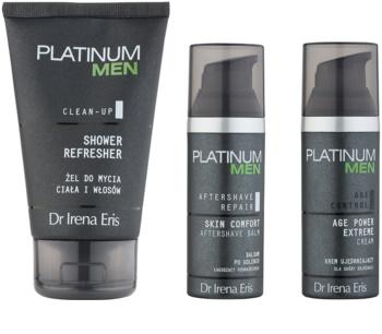 Dr Irena Eris Platinum Men Aftershave Repair kozmetika szett I.