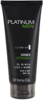Dr Irena Eris Platinum Men Clean-Up osviežujúci sprchový gél na telo a vlasy