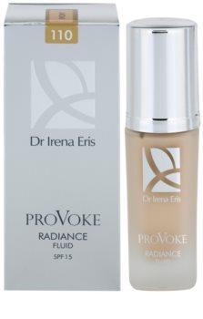 Dr Irena Eris ProVoke освітлюючий флюїд SPF 15