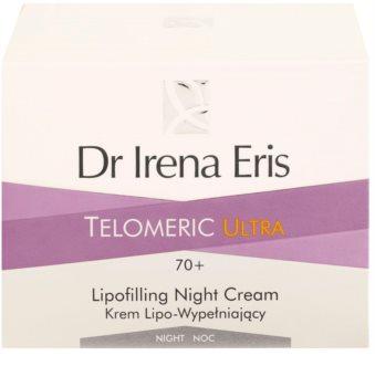 Dr Irena Eris Telomeric Ultra 70+ crema de noapte pentru refacerea densitatii pielii