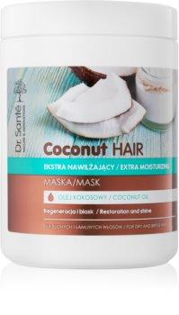 Dr. Santé Coconut máscara hidratante brilhar para cabelos secos e quebradiços