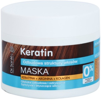 Dr. Santé Keratin tiefenregenerierende und nährende Maske für zerbrechliches Haar ohne Glanz