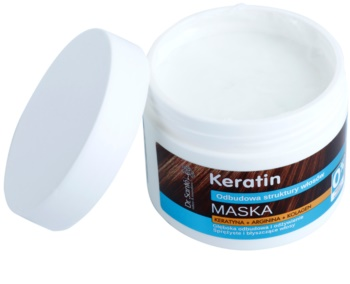 Dr. Santé Keratin Diepe Herstellende en Voedende Masker voor Bros en Dof Haar