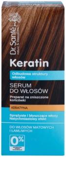 Dr. Santé Keratin regeneráló szérum a töredezett hajvégekre