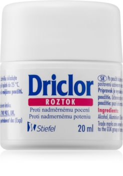 Driclor Solution Antitranspirant Roll-On tegen Overmatig Transpireren
