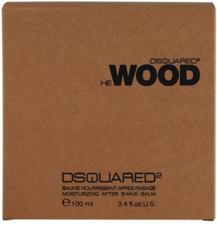 Dsquared2 He Wood balsam po goleniu dla mężczyzn 100 ml