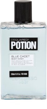 Dsquared2 Potion Blue Cadet gel za prhanje za moške 200 ml