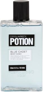 Dsquared2 Potion Blue Cadet sprchový gél pre mužov 200 ml