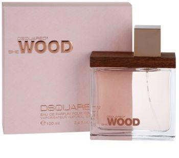 Dsquared2 She Wood Eau de Parfum para mulheres 100 ml
