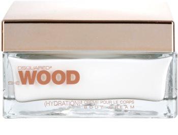 Dsquared2 She Wood tělový krém pro ženy 200 ml