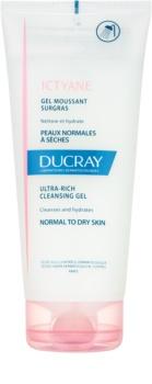 Ducray Ictyane gel limpiador espumoso para pieles normales y secas