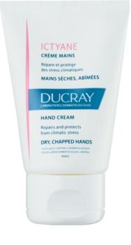 Ducray Ictyane cremă hidratantă pentru mâinile cu pielea uscată și crăpată