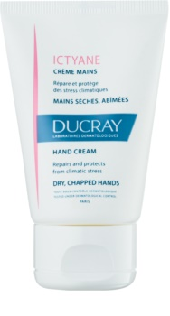 Ducray Ictyane зволожуючий крем для сухої та потрісканої шкіри рук
