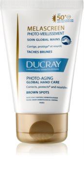 Ducray Melascreen complexe handverzorging SPF 50+ tegen Pigmentvlekken