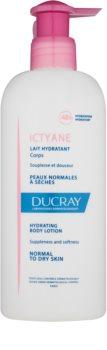 Ducray Ictyane зволожуюче молочко для тіла для нормальної та сухої шкіри