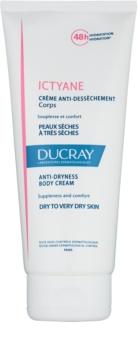 Ducray Ictyane hydratačný telový krém pre suchú až veľmi suchú pokožku