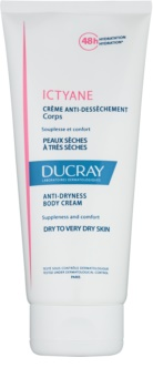 Ducray Ictyane Moisturizing Body Cream For Dry To Very Dry Skin