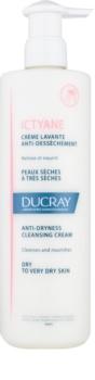 Ducray Ictyane crème nettoyante pour peaux sèches à très sèches