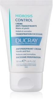 Ducray Hidrosis Control antipersiprant crema  pentru maini si picioare