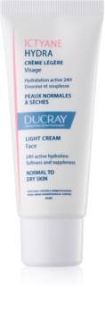 Ducray Ictyane crema hidratante ligera  para pieles normales y secas
