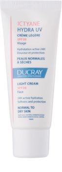 Ducray Ictyane lichte crème voor normale en/of droge huid SPF 30