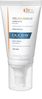 Ducray Melascreen krém na opalování proti pigmentovým skvrnám SPF50+