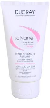Ducray Ictyane crème hydratante pour peaux normales à sèches