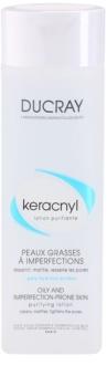Ducray Keracnyl čisticí voda pro mastnou a problematickou pleť