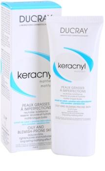 Ducray Keracnyl crème matifiante pour peaux grasses