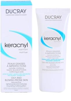 Ducray Keracnyl crema matifianta pentru ten gras