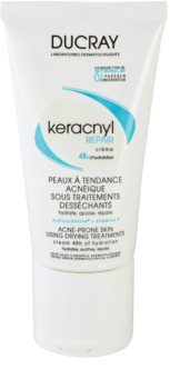 Ducray Keracnyl Regenerating and Moisturizing Cream For Skin Left Dry And Irritated By Medicinal Acne Treatment