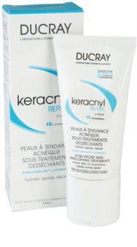 Ducray Keracnyl regenerační a hydratační krém pro pleť vysušenou a podrážděnou léčbou akné