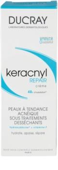 Ducray Keracnyl regeneracijska in vlažilna krema za izsušeno in razdraženo kožo zaradi zdravljenja aken