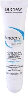 Ducray Keracnyl regeneracijski balzam za ustnice pri zdravljenju aken