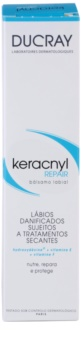 Ducray Keracnyl Regenerating Lip Balm for Compatible with Acne Treatments